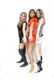Meninas bonitas da forma Imagem de Stock