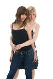 Meninas bonitas do adolescente imagens de stock royalty free