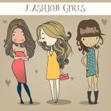 Meninas bonitos Imagem de Stock