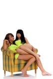 Meninas brincalhão do adolescente imagens de stock royalty free