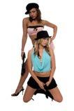 Meninas com injetores Imagens de Stock