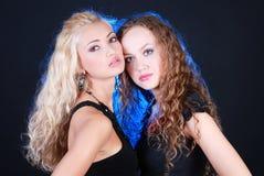 Meninas consideravelmente 'sexy' Imagens de Stock