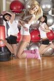 Meninas da aptidão Imagem de Stock Royalty Free