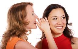 Meninas da bisbilhotice Fotografia de Stock Royalty Free