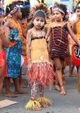 Meninas da escola primária SD Negery 02 Amban Imagens de Stock Royalty Free