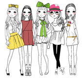 Meninas da forma Foto de Stock
