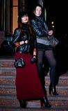 Meninas da noite Imagem de Stock