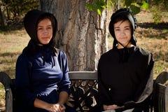 Meninas de Amish Foto de Stock Royalty Free