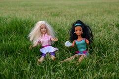 Meninas de Barbie foto de stock