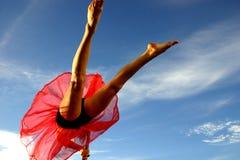 Meninas de dança imagens de stock