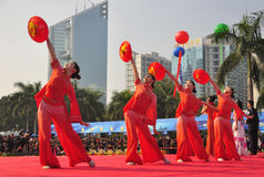 Meninas de dança imagem de stock royalty free
