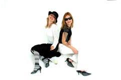 Meninas de Glam fotos de stock royalty free