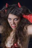 Meninas de Halloween Imagens de Stock Royalty Free