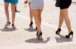 Meninas de partido Imagens de Stock Royalty Free