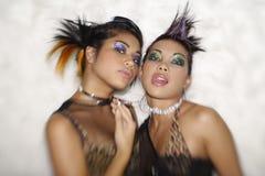 Meninas de partido Fotografia de Stock Royalty Free