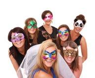 Meninas de partido Foto de Stock Royalty Free