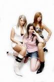 Meninas de partido bonitas Imagens de Stock Royalty Free