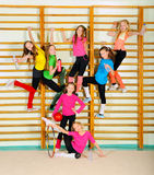 Meninas desportivas ativas Imagem de Stock Royalty Free