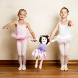 Meninas do bailado Fotos de Stock