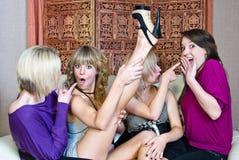 Meninas do divertimento foto de stock