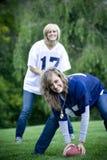 Meninas do futebol Foto de Stock
