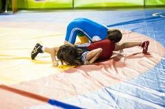 Meninas do lutador Imagens de Stock