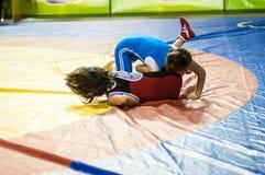 Meninas do lutador Imagens de Stock Royalty Free