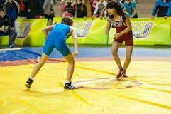 Meninas do lutador Fotografia de Stock Royalty Free