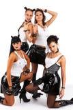 Meninas do metal pesado Imagens de Stock