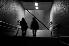 Meninas do metro Fotografia de Stock Royalty Free
