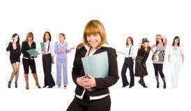 Meninas do negócio foto de stock
