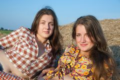 Meninas do país Fotos de Stock