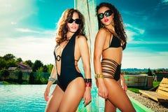 Meninas do verão imagens de stock royalty free