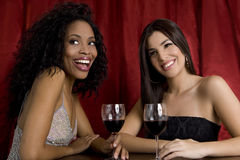 Meninas em um clube Fotografia de Stock