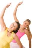 Meninas energéticas Foto de Stock Royalty Free