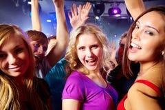 Meninas felizes Imagens de Stock Royalty Free