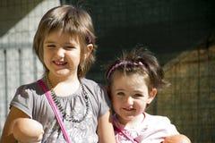 Meninas felizes Foto de Stock Royalty Free