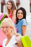 Meninas junto Fotos de Stock Royalty Free