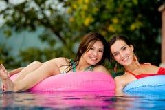 Meninas na associação foto de stock
