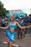 Meninas na parada de carnaval 2012 do verão foto de stock royalty free