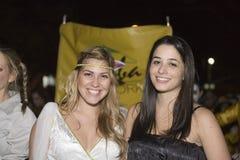 Meninas na parada de Halloween Foto de Stock