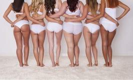 Meninas naturais da beleza Imagens de Stock