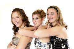 Meninas no estilo fotografia de stock