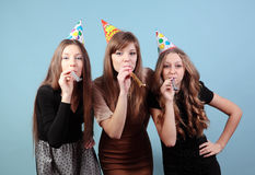 Meninas no partido Foto de Stock