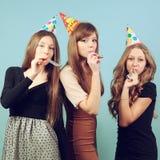 Meninas no partido Imagens de Stock