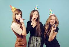 Meninas no partido Fotos de Stock