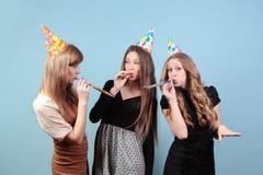 Meninas no partido Fotos de Stock Royalty Free