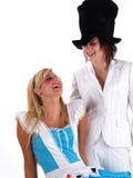 Meninas no traje foto de stock royalty free