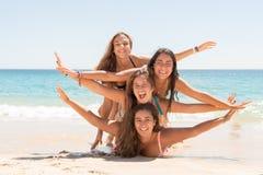 Meninas no verão Imagens de Stock Royalty Free