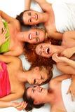 Meninas nos termas Foto de Stock Royalty Free